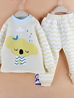Unisex Cotton Clothing Set,Spring / Fall Long Sleeve