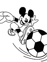 Animals  Cartoon MOUSE  Football  Wall Stickers, Soccer Wall Stickers Shapes / Leisure / Sports / 3D Wall Stickers