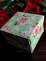 Boîtes Cadeaux(Lilas / Vert,Papier durci)Thème classique- pourMariage / Commémoration / Fête prénuptiale / Fête de naissance / Bonbon