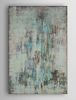 Hand Painted Oil Painting Abstract Hazy with Stretched Frame 7 Wall Arts®