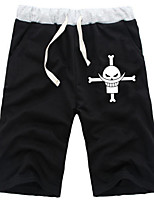 Inspired by One Piece Edward Daily Cosplay Boys' Pure Cotton Shorts
