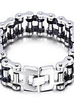 New! Popular Men's Stainless Steel Bicycle Chain Bracelet