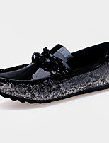 Men's Shoes Casual PU Loafers Black / Red / Beige