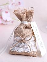 Sacoches à cadeaux(Jute,Jute)Thème jardin / Thème classique- pourMariage / Commémoration / Fête prénuptiale