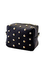 L.WEST women's Retro mini rivets shoulder bag