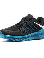 Sapatos Corrida Masculino Preto / Cinza / Azul Real Tecido