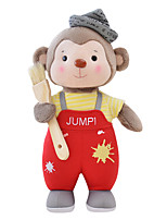 Metoo Senbao Monkey Plush Toy Doll Doll Birthday Gift Monkey Mascot Red Paint Treasure 45Cm