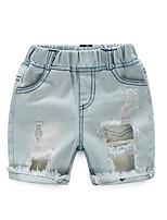 2016 Baby Girls Jeans Kids Clothing Children Skinny Jeans For Girl Kids Short Jeans Elastic Waist Fashion Jeans