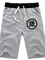 Inspired by Gintama Daily Cosplay Boys' Pure Cotton Shorts