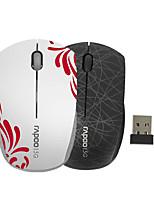 mini mouse senza fili portatile originale rapoo 3300p 5.8GHz per il computer portatile mouse del computer pc per bambini nero / bianco