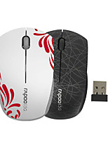 Orginal Rapoo 3300P 5.8Ghz Mini Wireless Mouse Portable for Computer PC Laptop Children's Mouse Black/White
