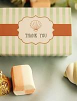Cajas de regalos(Verde,Papel de tarjeta) -Tema Playa / Tema Jardín / Tema Asiático / Tema Floral / Tema Lazo / Tema Clásico / Tema