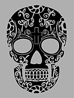 Shapes / Vintage / Abstract Skull Wall Mural/Decals Fantasy / 3D Wall Stickers Plane Wall Stickers,vinyl 58*85cm