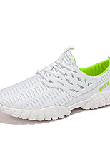 Men's Shoes Casual Tulle Fashion Sneakers Black / White / Gray