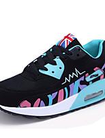 Men's Shoes Athletic Tulle Fashion Sneakers Black / Purple / Fuchsia