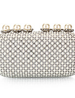 Women-Formal / Event/Party / Wedding / Office & Career / Shopping-PU-Evening Bag-Silver