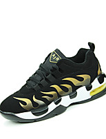 Men's Shoes Athletic Fleece Fashion Sneakers Red / Silver / Gold