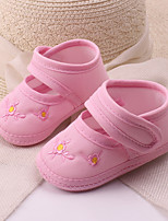 Baby Shoes Dress / Casual Cotton Espadrilles Yellow / Pink / Red