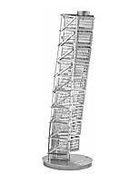Puzzle 3D Puzzle / modelli in metallo Costruzioni Giocattoli fai da te edifici famosi Metallo Argento Modellino e gioco di costruzione