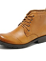 Men's Shoes Wedding / Outdoor / Office & Career / Party & Evening / Casual Nappa Leather Boots Brown