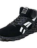 Men's Shoes Casual Fleece Fashion Sneakers Black / Green / Orange