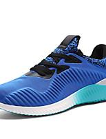 Zapatos Running Tejido Negro / Azul / Gris Hombre