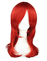 Red 22inch Anime Cosplay Wig CS-026C