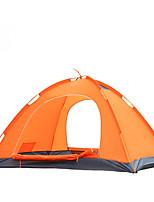 Tenda-Impermeabile / Traspirabilità / Anti-pioggia / Anti-polvere / Anti-vento / Tenere al caldo-2 persone-Blu / Arancione