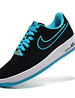 Zapatos Sneakers Cuero Negro / Gris / Bronceado / Azul Marino Hombre