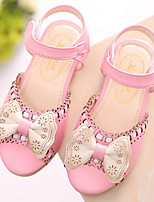 Girls' Shoes Dress Open Toe Sandals Blue / Pink / White