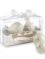 10box/Lot Love Birds Salt and Pepper Shakers Beter Gifts® Kitchen Wedding Favors (Set of 2) 5.3*5.3*6.8 cm/box