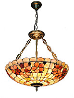 20 inch Retro Tiffany Pendant Lights Shell Shade Living Room Dining Room light Fixture