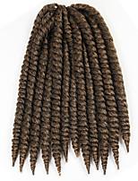 Braun Havanna Twist Braids Haarverlängerungen 12 Kanekalon 2 Strand 80 Gramm Haar Borten