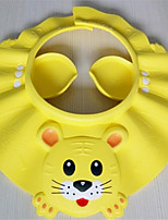 Cartoon Safe Shampoo Shower Cap  Bath And Sunshade Protect Soft Cap Hat For Baby Children Kids (Random Color)