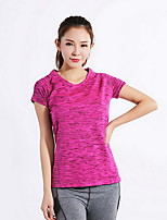 Women's Running Breathable Tops Running Sports Wear Red