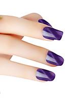 SIOUX Cat Eye Purple Glitters 6ML Nail Glue Nail Polish for 2 Years