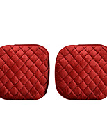 Universal Fit for Car, Truck, Suv, or Van Textile Car Seat Cushion Front Seat Cushion (1 Pieces Set) Red