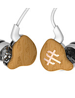 Original TFZ SERIES1 Wood Sport Dual Chamber Earphone HiFi, Full Warm and Deep Low Frequency