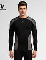 Running Tops / T-shirt / Tights Men's Breathable / Quick Dry / Compression Terylene Fitness / Running Sports Sports WearIndoor / Outdoor