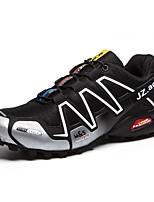 Men's Trail Running Shoes Tulle Black