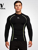 Men's Running Tops Running Breathable Quick Dry Running Gym Fitness Tights Men Clothes