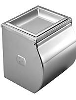 de acero inoxidable de baño la luz del espejo caja de tejido engrosado