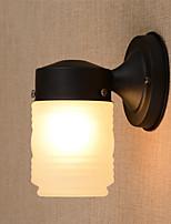 Stile Mini Lampade a candela da parete,Rustico/lodge E26/E27 Metallo