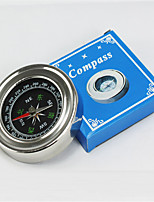 Compasses Convenient / Pocket Hiking / Camping / Travel / Outdoor Stainless Steel Silver