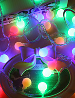 4M Led String Lights With 40Led Ball Ac220V Holiday Decoration Lamp Festival Christmas Lights Outdoor Lighting