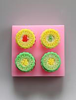 Fu Lu Shou Xi Chinese Word Shape Chocolate Silicone Molds,Cake Molds,Soap Molds,Decoration Tools Bakeware