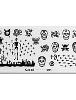 BlueZOO Rectangle Printing Nail Art Stamping (C-004)