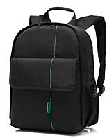 INDEPMAN Small Waterproof Camera/Lens Backpack DSLR Camera Bag 21*13*32 Green Inside