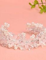 Dame / Blomsterpige Legering / Imitert Perle Headpiece-Bryllup / Spesiell Leilighet Pannebånd 1 Deler