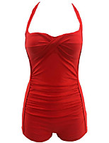 Klassische & Traditionelle Lolita Ärmellos N/A Rot Terylen Lolita Kleid